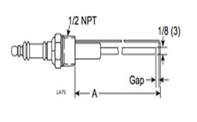 Eclipse 17652 Spark Ignitor, 1/2