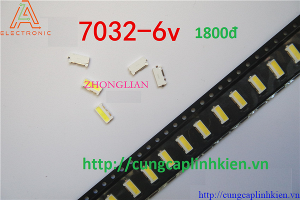 Đèn LED 7032 6V Samsung LCD TV