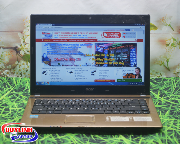 Laptop cũ Acer Aspire 4752 Core i5-2430M | 14 inch