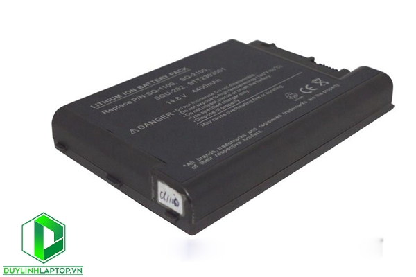 Pin Acer  1100, TRAVELMATE SQU-202,605,660,800,8000,SQ-2100,SQ-1100