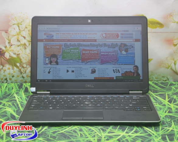 Laptop cũ Dell Latitude E7240 Core i5-4300U | 12.5 inch