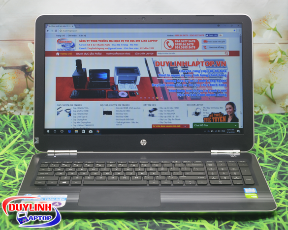 Laptop cũ HP Pavilion 15 Core i5-7200U | card rời 4GB | 15.6 inch