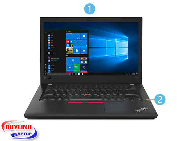 Laptop cũ Lenovo Thinkpad T480 Core i7* 8550U