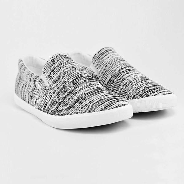 giày lười vải