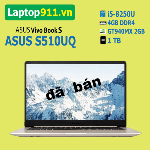Laptop ASUS S510UQ