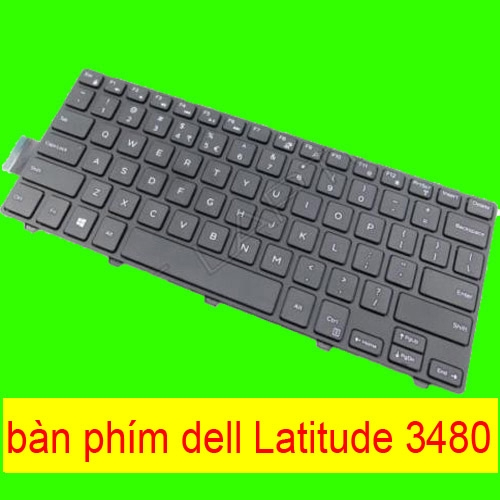 ban phim laptop dell Latitude 3480