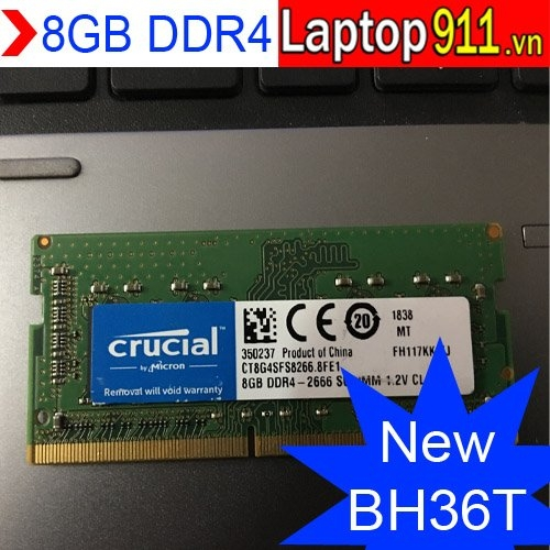 Ram laptop 8gb DDR4 Crucial