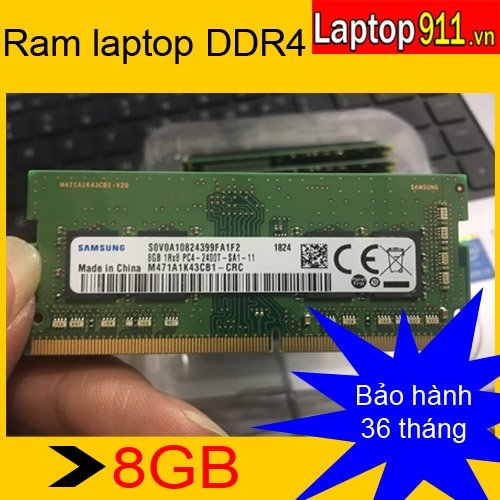 Ram laptop 8gb DDR4 Samsung