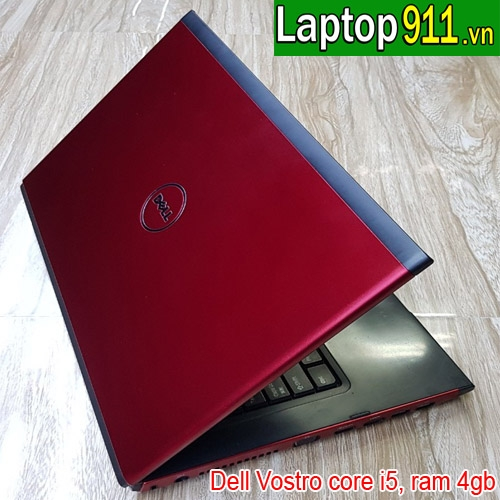 Laptop cũ Dell vostro 3500 mầu đỏ