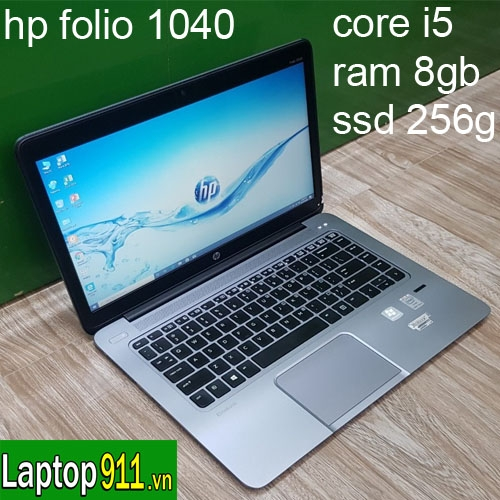 hp folio 1040 g1 core i5 ram 8gb