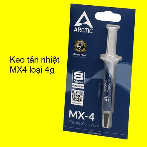 keo tan nhiet Arctic  mx4 4g