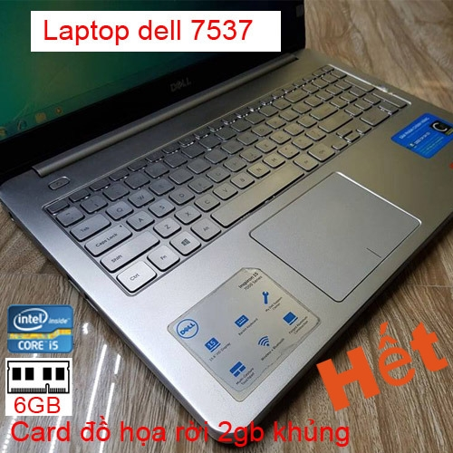 Laptop cũ dell Inspiron 7537