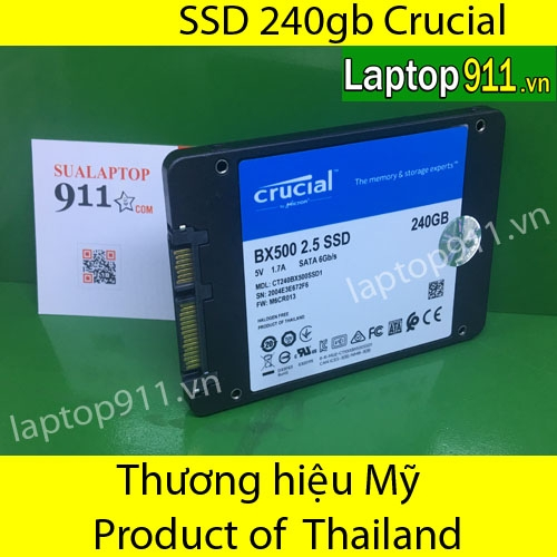 ổ cứng SSD 240gb Crucial