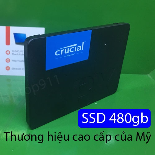 ổ cứng SSD 480gb Crucial