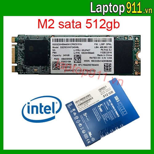 ổ cứng ssd M2 512gb intel