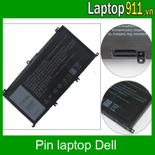 pin laptop dell 357F9 Inspiron 15 7559 7557 5577 7566 7567