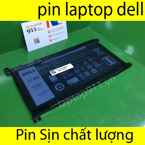 pin laptop dell P62F001, P62F
