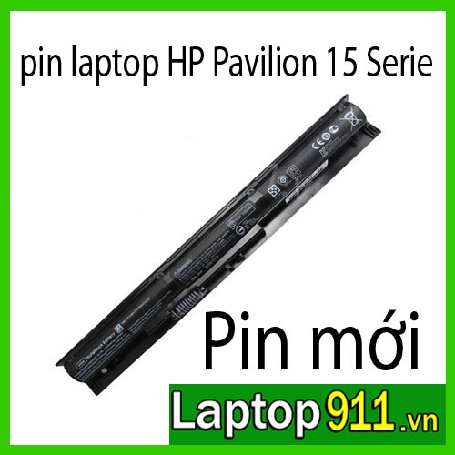 pin laptop HP Pavilion 15 Series