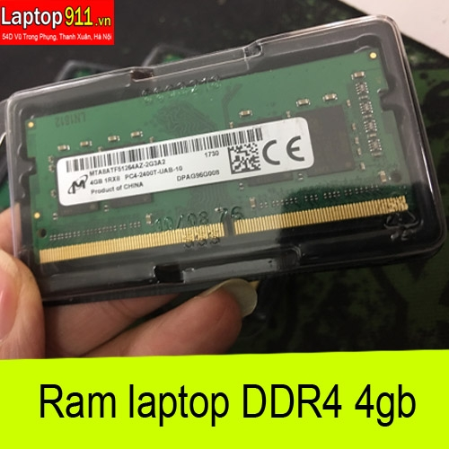 ram laptop DDR4 4gb Micron