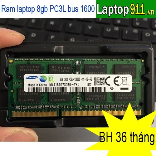Ram laptop 8gb PC3L Samsung
