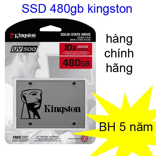 SSD 480gb Kingston SUV500