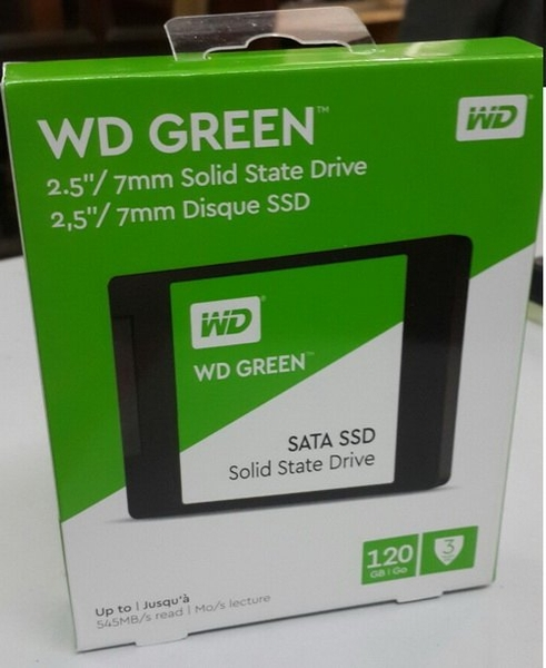 ổ ssd 120gb wd Green