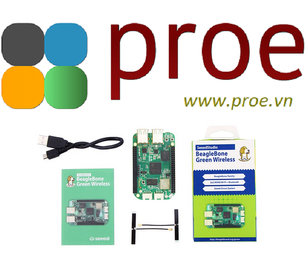 SeeedStudio BeagleBone Green Wireless