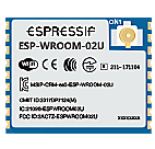 SP-WROOM-02U ESP8266EX Wifi Module U.FL connector.