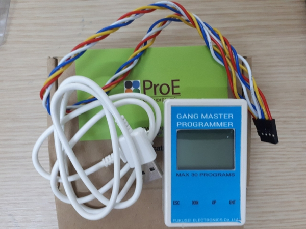 GANG MASTER PROGRAMMER FOR STM8