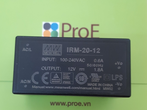 IRM-20-12 AC/DC Power Modules