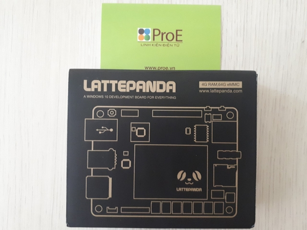 LattePanda - A Powerful Windows 10 Mini PC 4GB/64GB (Unactivated)