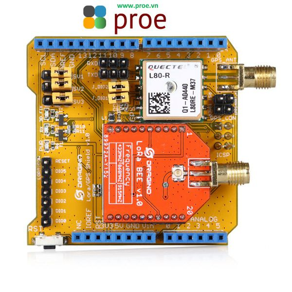 LoRa GPS Shield for Arduino