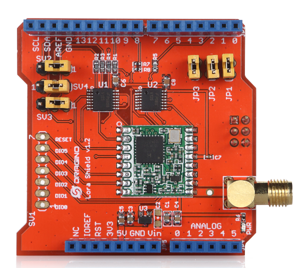 Dragino LoRa Shield 433MHZ