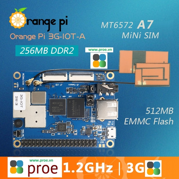 Orange Pi 3G-IOT-A