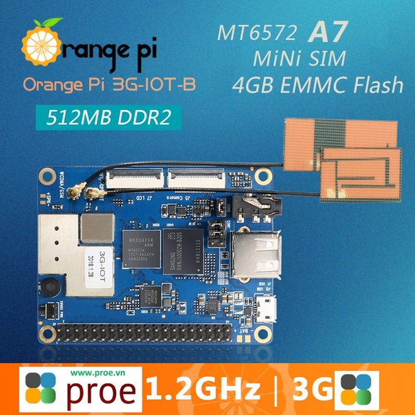 Orange Pi 3G-IOT-B