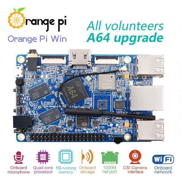 Orange PI Win Allwinner A64