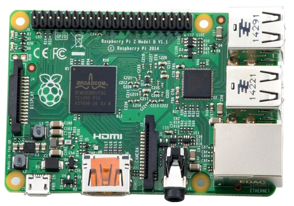 The New Raspberry Pi 2 Model B 1GB