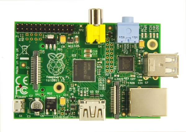 Raspberry Pi Model B (Made in UK)