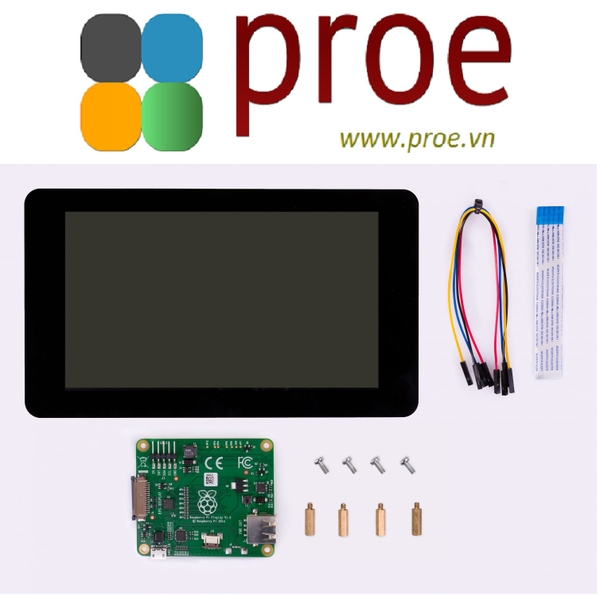 Raspberry Pi Touch Display The 7 inch touchscreen monitor for Raspberry