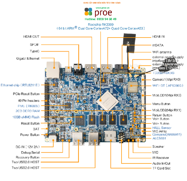 Orange Pi RK3399