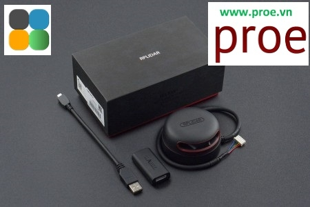 LIDAR RPLIDAR A2M8 - 360 Degree Laser Scanner Development Kit
