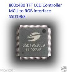 SSD1963 1215KB Embedded Display SRAM LCD Display Controller
