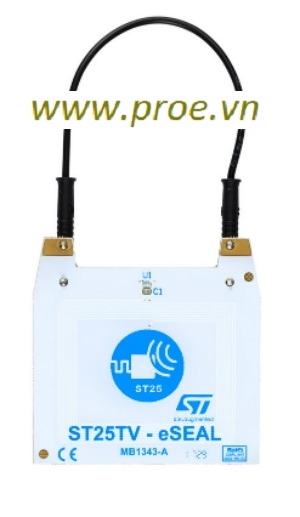 ST25TV-eSEAL Discovery board for the ST25TV02K NFC Forum Type 5 tag IC