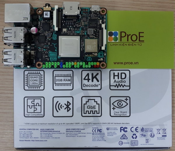 Tinker Board S Asus
