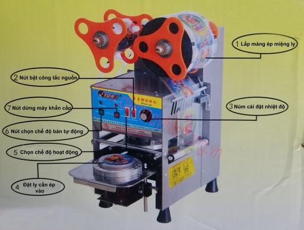 Máy ép miệng ly tự động Eton Q7