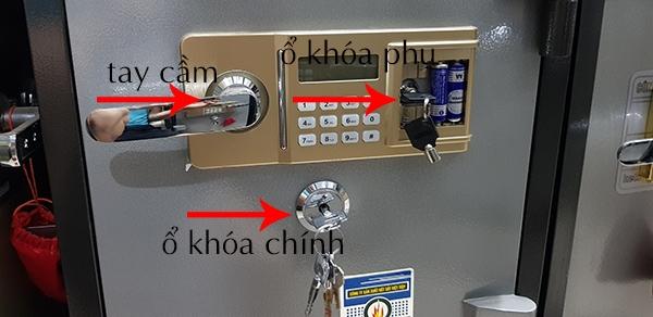 Cách mở két sắt việt tiệp điện tử khi quên mã số hay mật mã