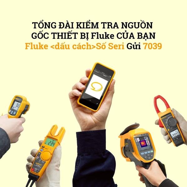 Tổng đài tra cứu nguồn gốc thiết bị đo FLUKE