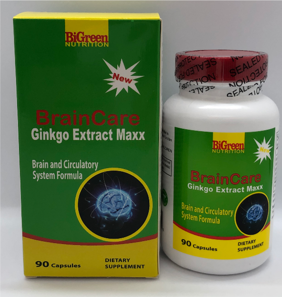 Brain Care Ginkgo Extract Maxx