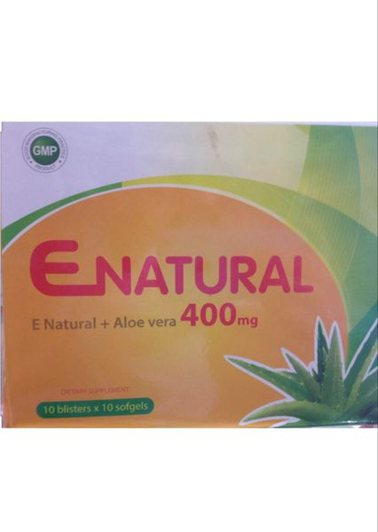 ENATURAL VITAMIN E 400MG