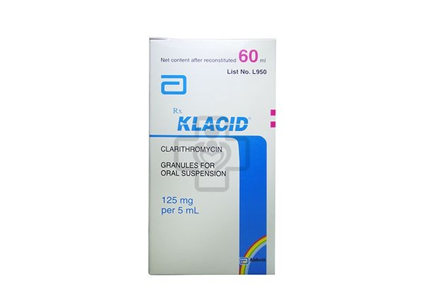 Klacid 125mg Hộp 1 Lọ 60ml